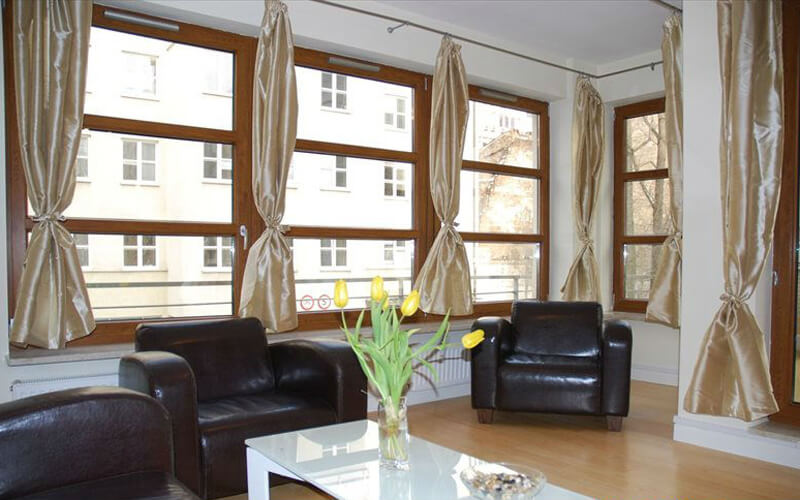 Apartment Warsaw with air – conditioning – City Center Sienna